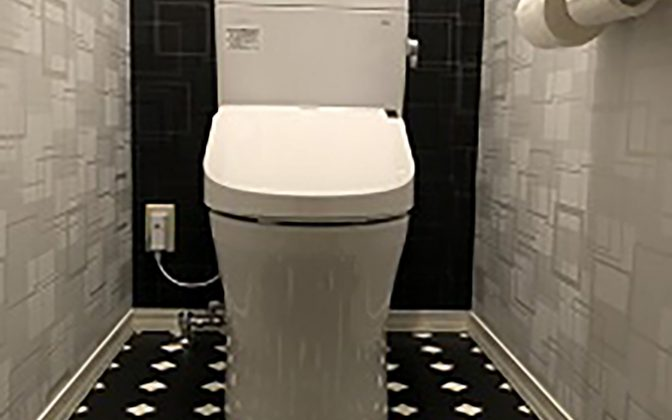 事例afterトイレ
